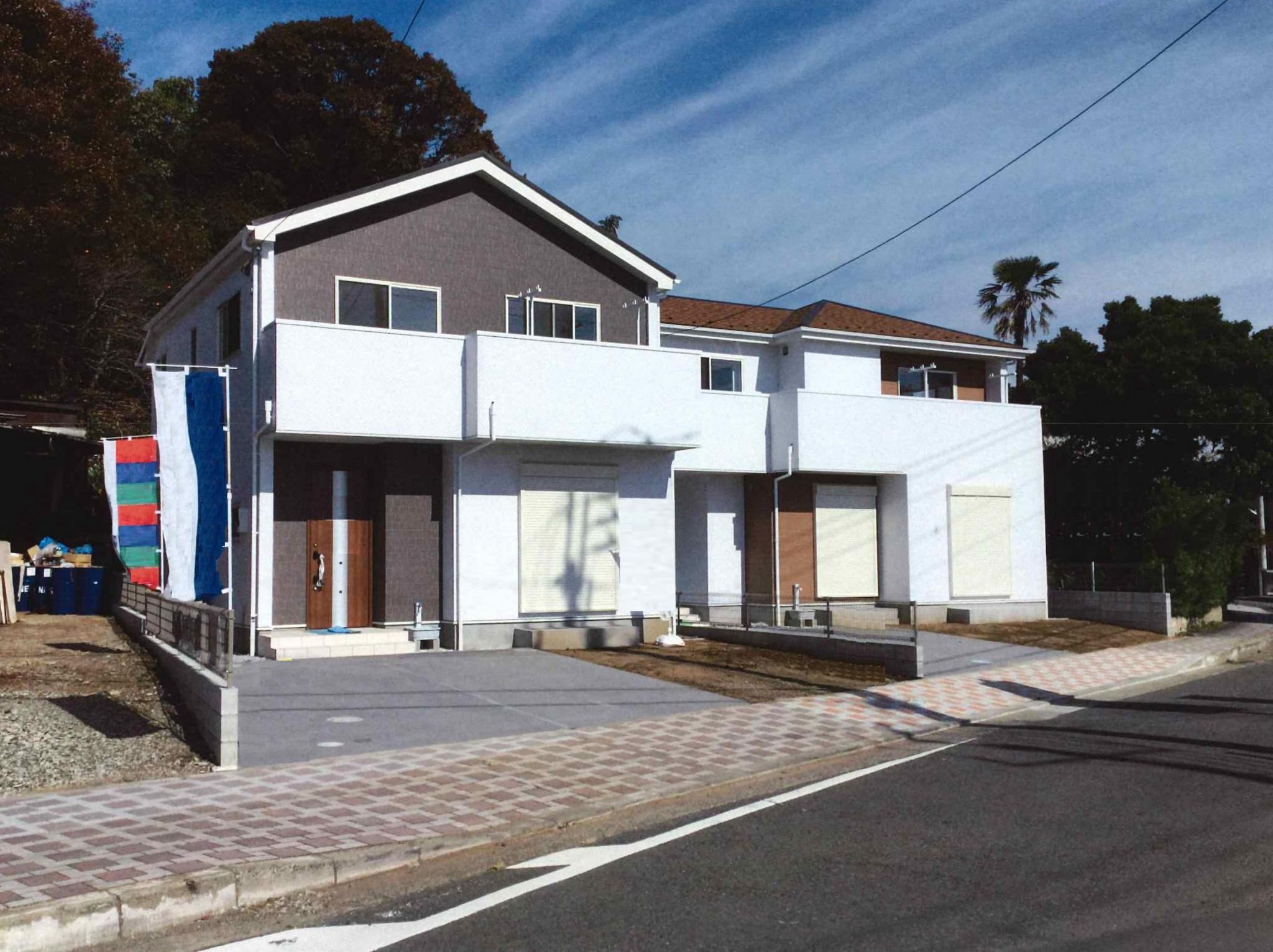 アクアグループ 物件販売実績写真 平塚市岡崎 新築戸建 2棟