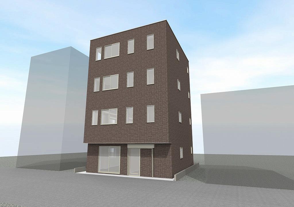 アクアグループ 物件販売実績写真 平和ビル白楽駅前 新築一棟貸店舗・事務所